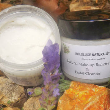 Natural Makeup Remover & Cleanser– Small Batch Handmade – Essential Oils – Natural Facial Cleanser for All Skin Types