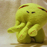 Baby Cthulhu by WonkyCritters on Etsy