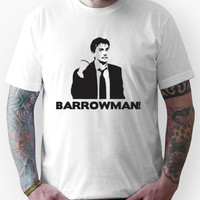 BARROWMAN! David Tennant on Buzzcocks- Black Unisex T-Shirt