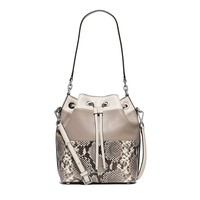 MICHAEL Michael Kors Dottie Large Bucket Bag (Natural/Snake)