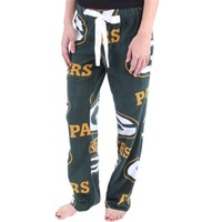 Women's Green Bay Packers Green Ramble Fleece Pants