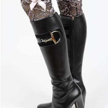 LEG WARMER TWO TONE LACE BOOT TOPPER SATIN BOW