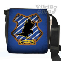 Ravenclaw - Messenger Shoulder bag, inspired by Harry Potter, Ravenclaw crest Small Bag, Birthday gift, Harry Potter bag