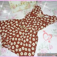 Liz Lisa Floral Chiffon Playsuit/One-Piece (NwT) from Kawaii Gyaru Shop