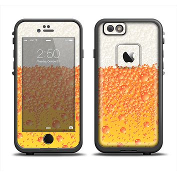The Fizzy Cold Beer Apple iPhone 6 LifeProof Fre Case Skin Set