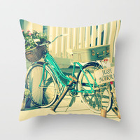 Just Married! Throw Pillow by RDelean