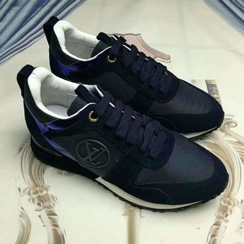 Louis Vuitton LV Woman Men Fashion Sneakers Sport Shoes