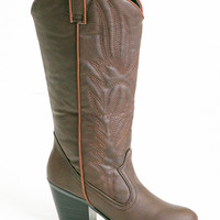 daisy cowgirl boots