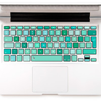 50 Shades of Mint Decal Keyboard Sticker