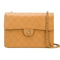 Chanel Vintage Quilted Shoulder Bag - What Goes Around Comes Around - Farfetch.com