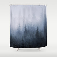"""Simbiosis"" Shower Curtain by Guido Montañés"
