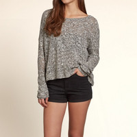 Split Back Sweater
