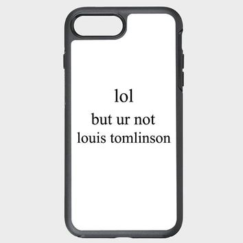 Custom iPhone Case lol but ur not louis tomlinson zzz
