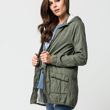 ASHLEY Womens Hooded Parka | Jackets