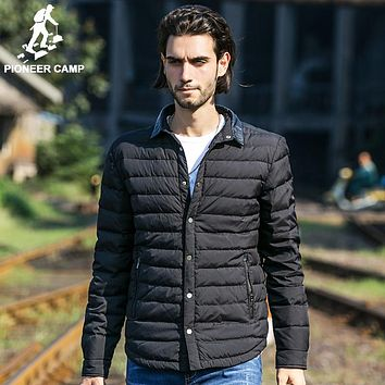 clothing winter down jacket men top quality 90% white duck down coat men casual winter coat male windproof