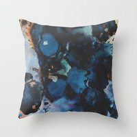 Dance All Night Throw Pillow by duckyb