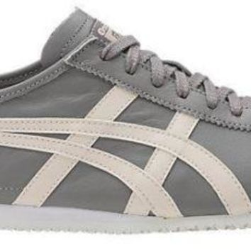 Mens Onitsuka Tiger Mexico 66 Grey fashion trainers Sneakers shoes Size UK 11