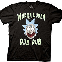 Rick and Morty Wubbalubba Dub-Dub T-shirt
