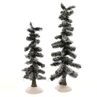 Dept 56 Accessories Heavy Snowed Trees Village Trees