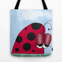 The Euphoric Ladybug Tote Bag by One Artsy Momma | Society6