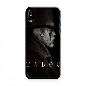 Taboo iPhone X Case