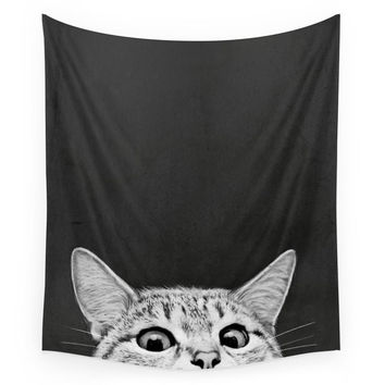 Society6 You Asleep Yet? Wall Tapestry