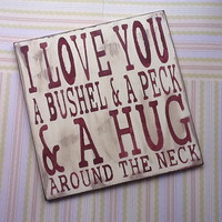 I Love You A Bushel & A Peck & A Hu.. on Luulla