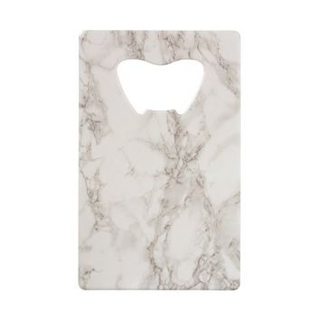 Marble Stone Credit Card Bottle Opener