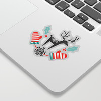 Hygge Holiday Sticker by Heather Dutton