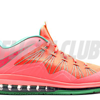 "air max lebron 10 low ""watermelon"" - brght mng/brght mng-gmm grn-ls - Lebron James - Nike Basketball - Nike 