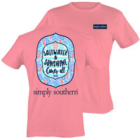Simply Southern T-Shirt Sunshine - Party Pink