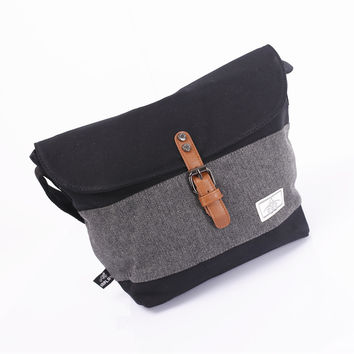 Men Canvas Shoulder Bags Casual Messenger Bags [6583344135]