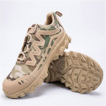 High Quality New Men's Amry Special forces Tactical Boots Outdoor Desert Climbing Outdoor Airsoft Shoes Hiking Hunting Boots