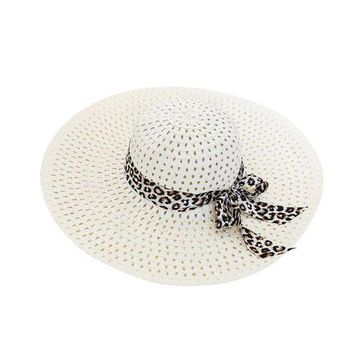 PEAP78W Women Hat Girl Summer Beach Hat Wide Brim Fold Casual Cap Beach Sun Hat