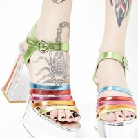 Madagascar Platform Sandals