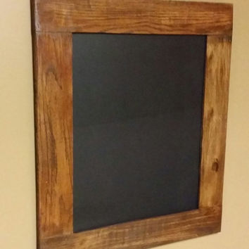 "Rustic Chalkboard, Chalkboard sign, wedding chalkboard, Home Decor, menu chalkboard,Blackboard  approx 18"" x 21"""