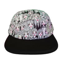 Ghost 5 Panel Hat
