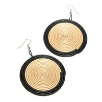 Tribal Woven Earrings