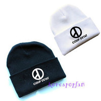 Bigbang G-DRAGON COUP D'ETAT GD HAT KNIT CAP KPOP NEW