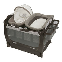 Graco Pack 'n Play Playard Bassinet Changer Snuggle Suite LX Baby Bouncer Abb...