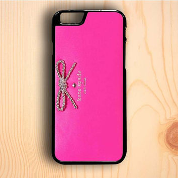 Dream colorful Kate Spade Pink Wallet iPhone 6 Plus Case