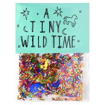 A Tiny Wild Time Sparkly Confetti