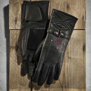 Harley-Davidson® Women's Starwood Leather Gloves 97271-15VW