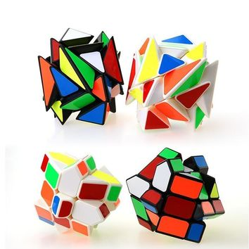 Hot Sale 3x3X3 Speed Magic Cube Puzzle Brain Teaser Educational Toys For Children Kids cubo magico Christmas New Year Gift