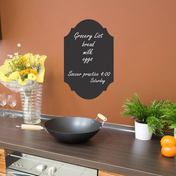 Chalkboard wall decal 01