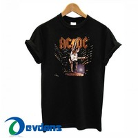 ACDC Stiff Upper Lip Tour T Shirt Women And Men Size S To 3XL