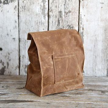 Peg and Awl Marlowe Lunch Bag Spice