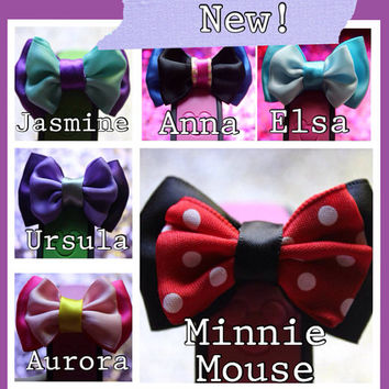 Magic Band Bow - Disney Magic Band Mini Bow - Magic Band Accessories
