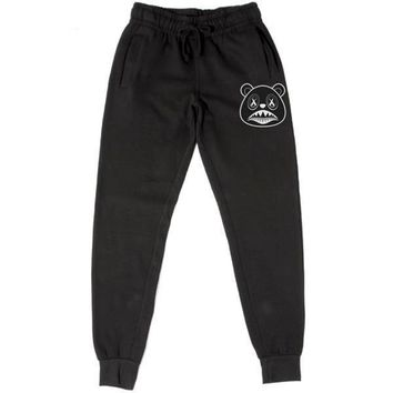 Oreo Baws PATCH Black French Terry Joggers