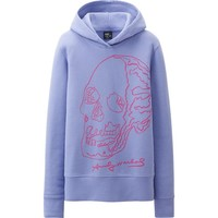 WOMEN SPRZ NY L/S SWEAT PULLOVER HOODIE (ANDY WARHOL) | UNIQLO